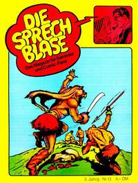 Cover Thumbnail for Die Sprechblase (Norbert Hethke Verlag, 1978 series) #13