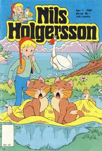 Cover Thumbnail for Nils Holgersson (Atlantic Forlag, 1988 series) #7/1988