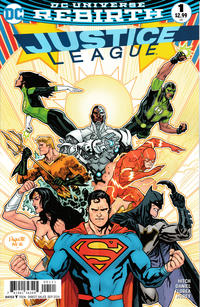 Cover Thumbnail for Justice League (DC, 2016 series) #1 [Yanick Paquette Cover]