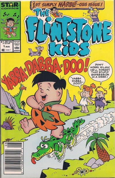 Cover for The Flintstone Kids (Marvel, 1987 series) #1 [Direct Edition]