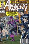 Cover for Avengers Spotlight (Marvel, 1989 series) #28 [Newsstand]