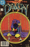 Cover Thumbnail for The Demon (1987 series) #3 [Canadian Newsstand Edition]