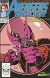 Cover for Avengers Spotlight (Marvel, 1989 series) #25 [Direct]