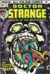 Cover Thumbnail for Doctor Strange (1974 series) #4 [British Price Variant]