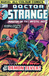 Cover Thumbnail for Doctor Strange (1974 series) #7 [British Price Variant]