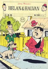 Cover Thumbnail for Helan og Halvan (Illustrerte Klassikere / Williams Forlag, 1963 series) #99