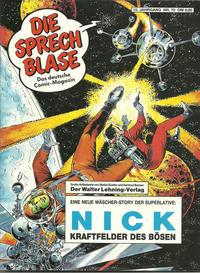 Cover Thumbnail for Die Sprechblase (Norbert Hethke Verlag, 1978 series) #70