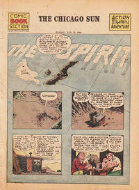 Cover Thumbnail for The Spirit (Register and Tribune Syndicate, 1940 series) #5/19/1946