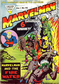 Cover Thumbnail for Marvelman (L. Miller & Son, 1954 series) #70