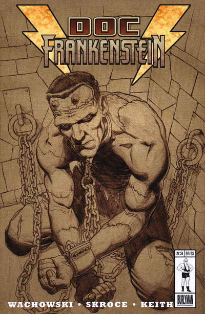 Cover for Doc Frankenstein (Burlyman Entertainment, 2004 series) #3 [Regular Cover]