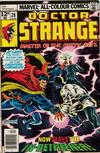 Cover for Doctor Strange (Marvel, 1974 series) #28 [British Price Variant]