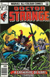 Cover for Doctor Strange (Marvel, 1974 series) #30 [British Price Variant]
