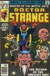Cover for Doctor Strange (Marvel, 1974 series) #26 [British Price Variant]