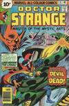 Cover Thumbnail for Doctor Strange (1974 series) #16 [British Price Variant]