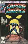 Cover for Captain America (Marvel, 1968 series) #256 [British]