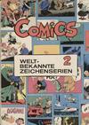 Cover for Comics - Weltbekannte Zeichenserien (Carlsen Comics [DE], 1971 series) #2
