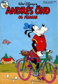 Cover Thumbnail for Andrés Önd (Egmont, 1983 series) #29/1987