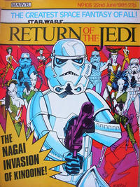 Cover Thumbnail for Return of the Jedi Weekly (Marvel UK, 1983 series) #105