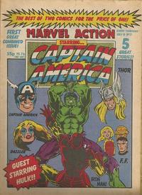 Cover Thumbnail for Marvel Action (Marvel UK, 1981 series) #21
