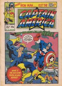 Cover Thumbnail for Captain America (Marvel UK, 1981 series) #35