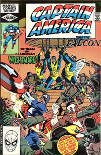 Cover Thumbnail for Captain America (Marvel, 1968 series) #264 [Direct Edition]