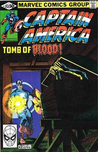 Cover Thumbnail for Captain America (Marvel, 1968 series) #253 [Direct]