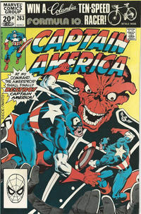 Cover Thumbnail for Captain America (Marvel, 1968 series) #263 [British]
