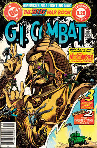 Cover for G.I. Combat (DC, 1957 series) #261 [Direct]