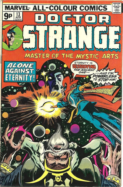 Cover for Doctor Strange (Marvel, 1974 series) #13 [Regular Edition]