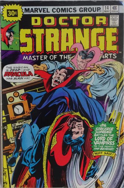 Cover for Doctor Strange (Marvel, 1974 series) #14 [25¢ Cover Price]