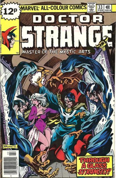 Cover for Doctor Strange (Marvel, 1974 series) #33 [Regular Edition]