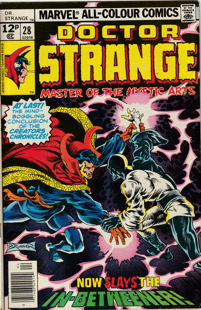 Cover for Doctor Strange (Marvel, 1974 series) #28 [Regular Edition]