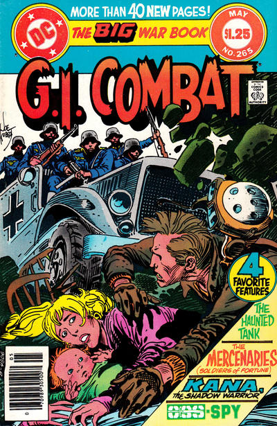Cover for G.I. Combat (DC, 1957 series) #265 [direct-sales]