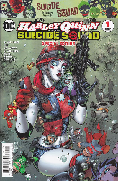 Cover for Harley Quinn & the Suicide Squad Special Edition (DC, 2016 series) #1