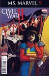 Cover for Ms. Marvel (Marvel, 2016 series) #9