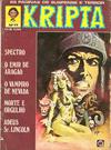 Cover for Kripta (Rio Gráfica e Editora, 1976 series) #17