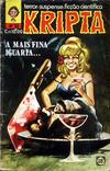 Cover for Kripta (Rio Gráfica e Editora, 1976 series) #33
