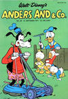 Cover for Anders And & Co. (Egmont, 1949 series) #38/1971