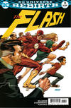 Cover Thumbnail for The Flash (2016 series) #3 [Dave Johnson Variant Cover]