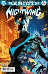 Cover for Nightwing (DC, 2016 series) #1