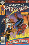 Cover for The Amazing Spider-Man (Marvel, 1963 series) #184 [Whitman Edition]