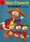 Cover for Walt Disney's Comics and Stories (Dell, 1940 series) #v18#4 (208) [15¢ Variant]