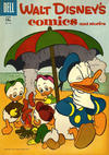 Cover for Walt Disney's Comics and Stories (Dell, 1940 series) #v17#9 (201) [15¢]