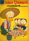 Cover for Walt Disney's Comics and Stories (Dell, 1940 series) #v17#12 (204) [15¢]