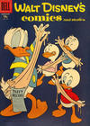 Cover for Walt Disney's Comics and Stories (Dell, 1940 series) #v18#2 (206) [15¢]
