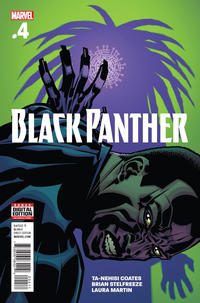 Cover Thumbnail for Black Panther (Marvel, 2016 series) #4 [Brian Stelfreeze Cover]