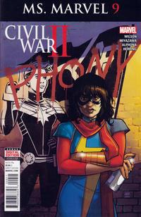 Cover Thumbnail for Ms. Marvel (Marvel, 2016 series) #9