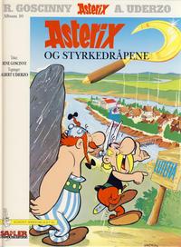 Cover Thumbnail for Asterix [Seriesamlerklubben] (Hjemmet / Egmont, 1998 series) #10 - Asterix og styrkedråpene