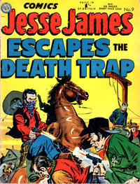 Cover Thumbnail for Jesse James Comics (Thorpe & Porter, 1952 series) #9