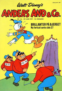Cover Thumbnail for Anders And & Co. (Egmont, 1949 series) #26/1971